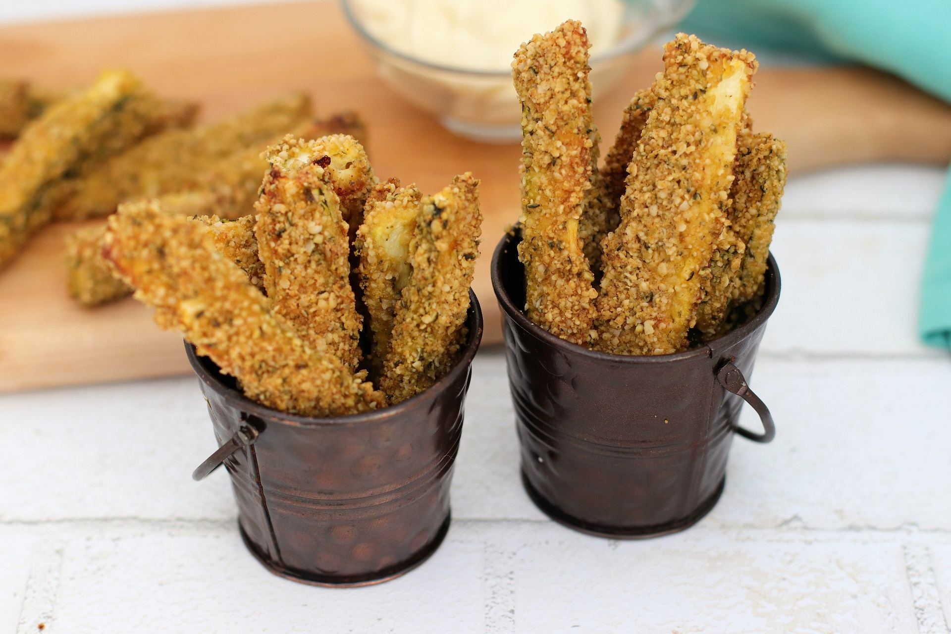 healthy zucchini fries