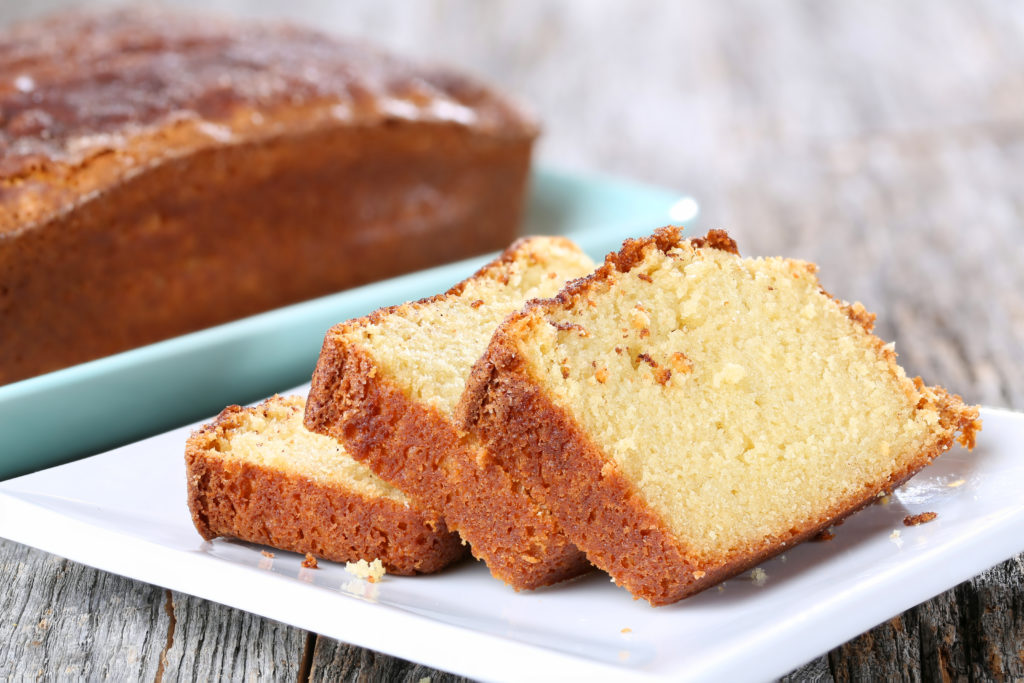 Keto Homemade Pound Cake