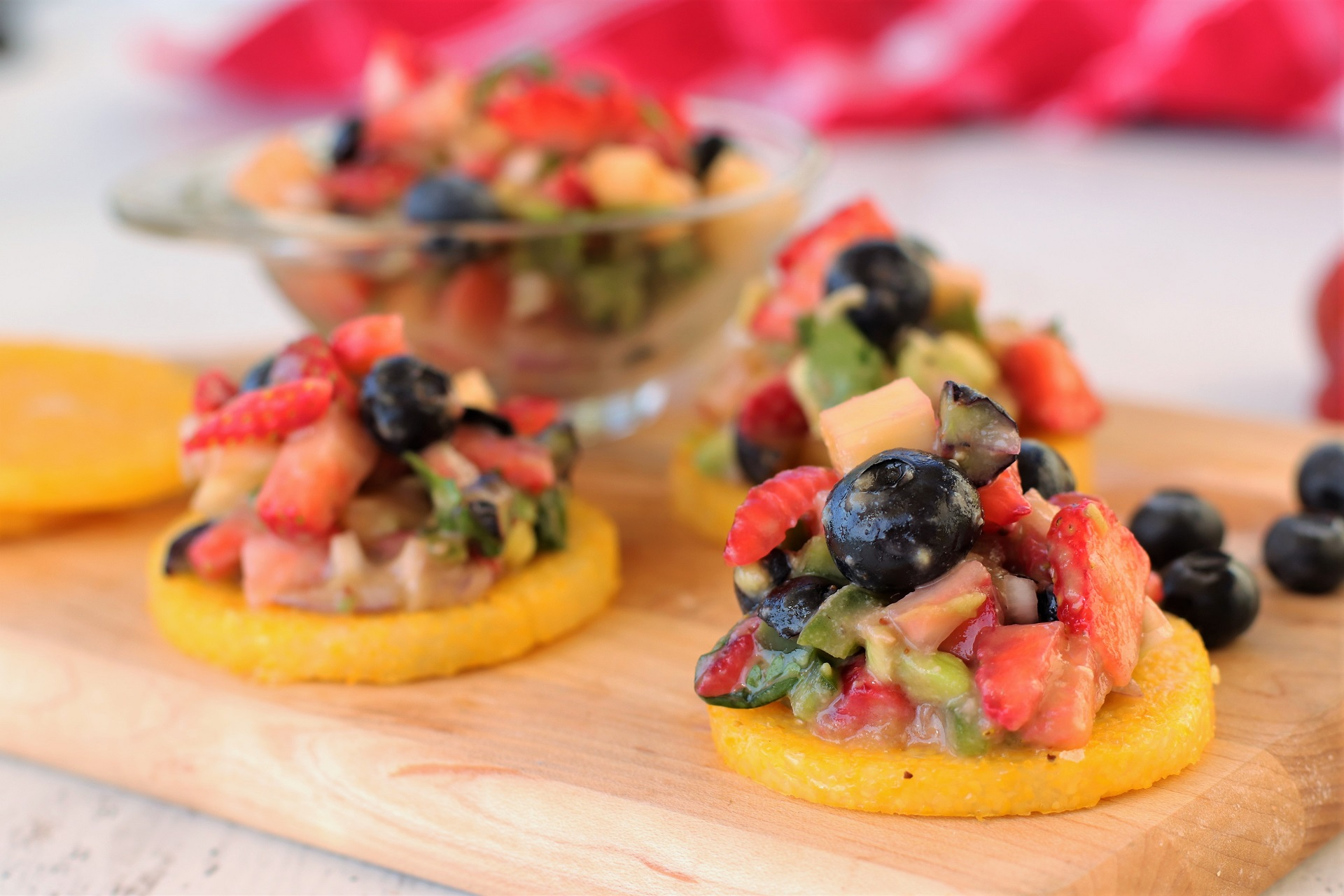 fruit salsa polenta recipe