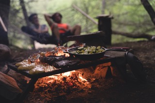 open pit cooking