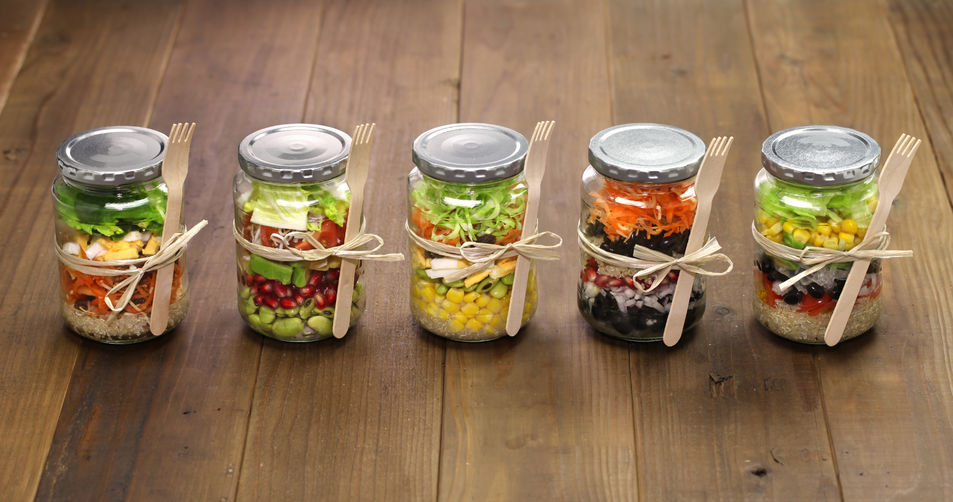 Meal Prep Salad Jars