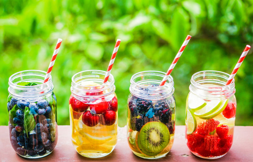 infused water for hydration