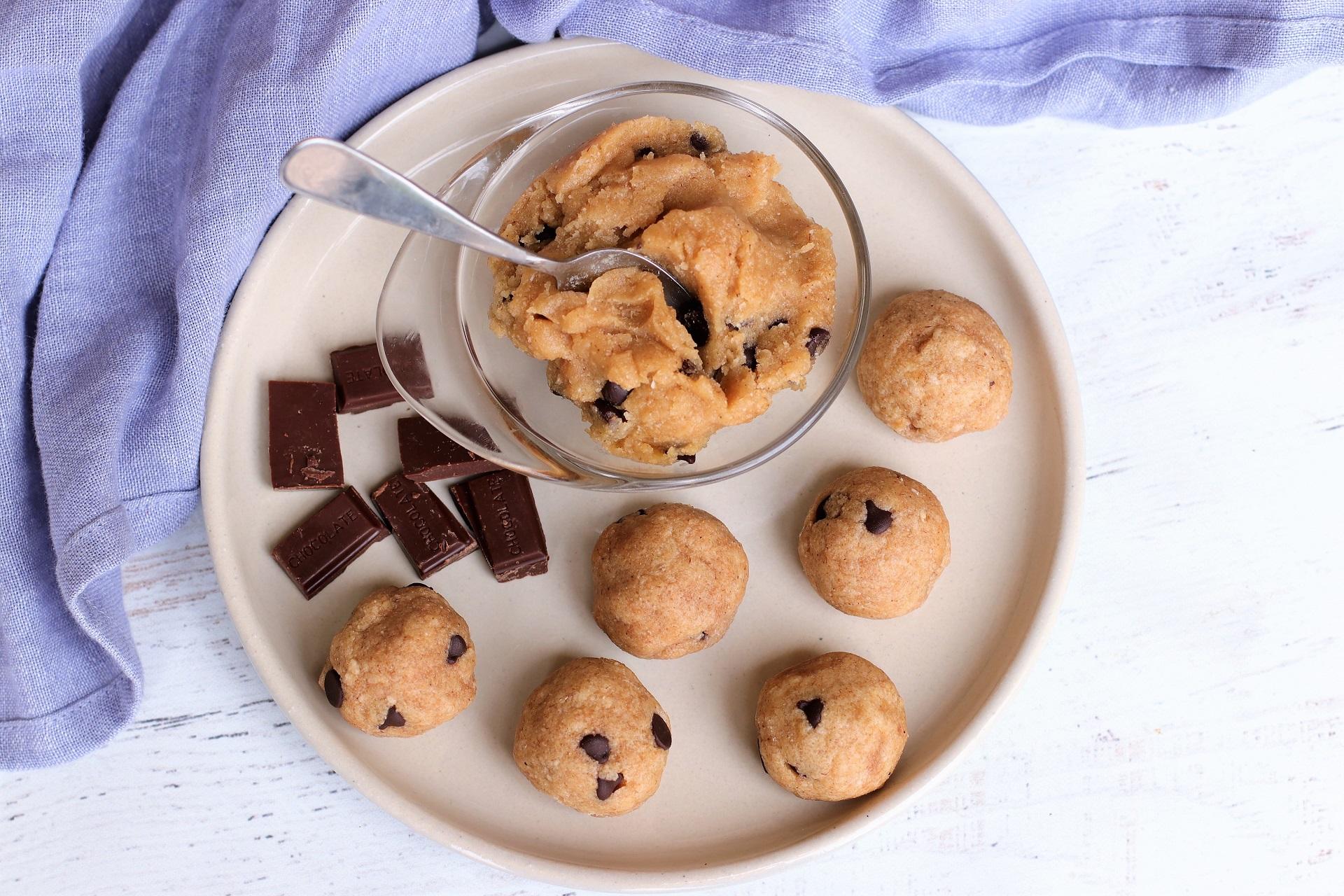 tiger nut cookie dough