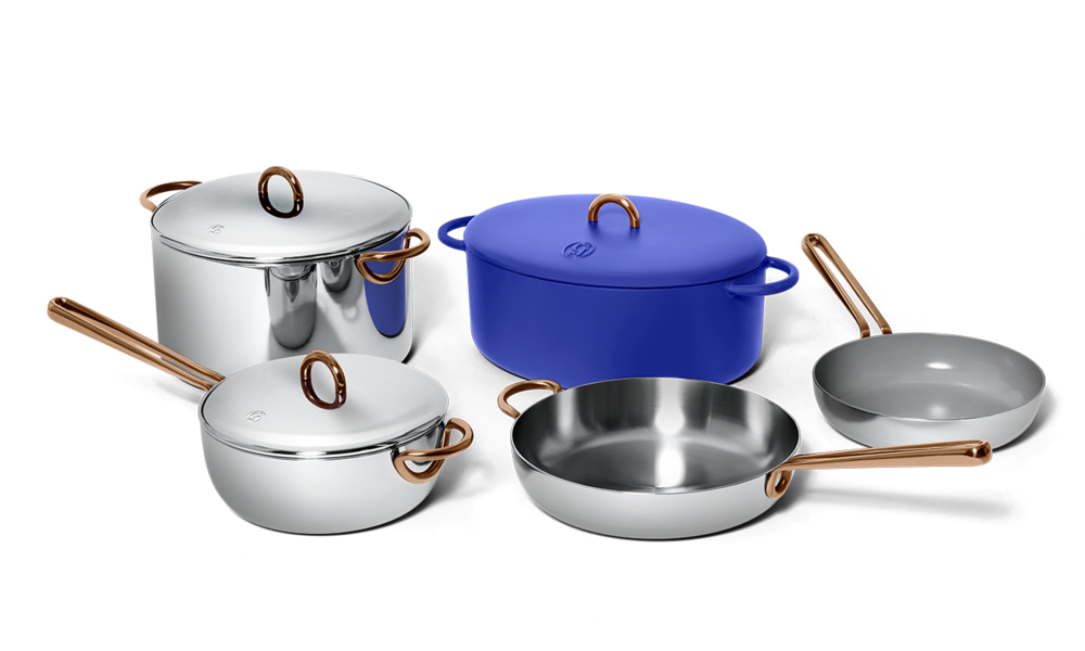 picture of non-toxic stainless steel cookware set