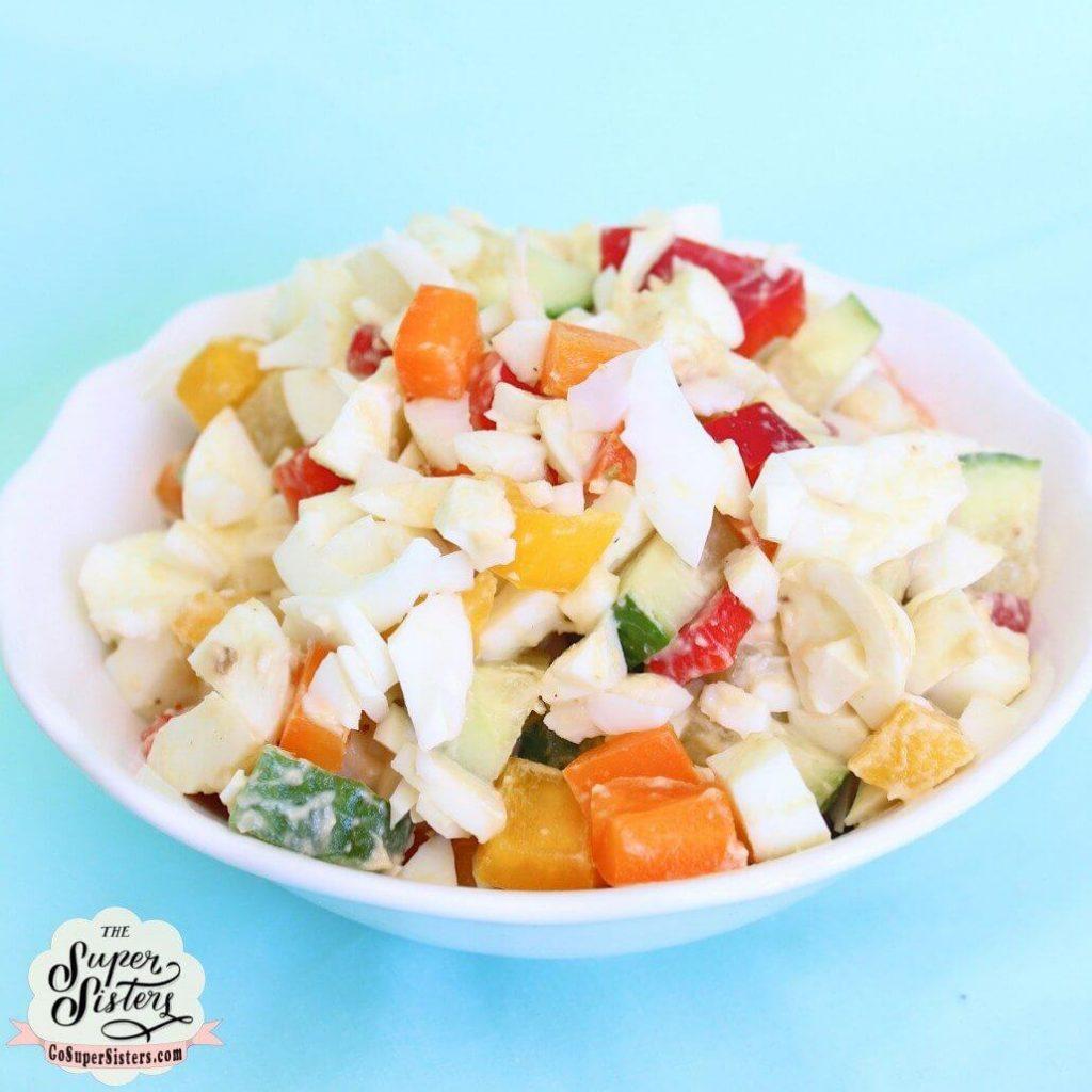 low calorie egg salad
