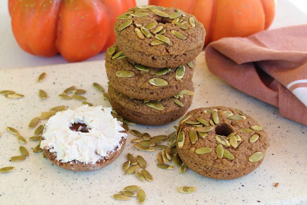 low carb pumpkin bagel recipe