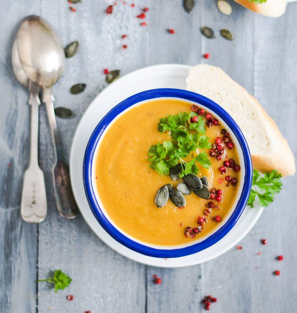 pumpkin soup cooking class