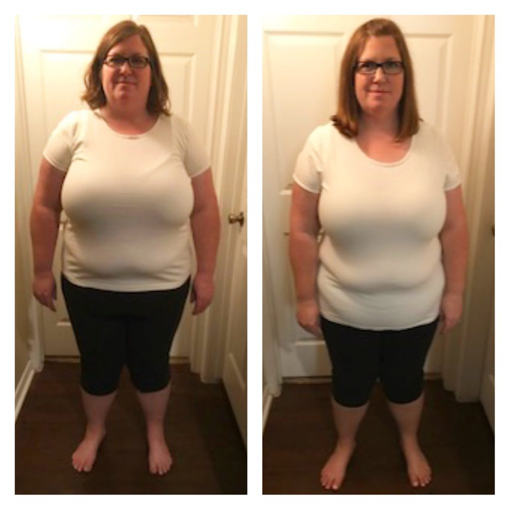 45-pound weight loss