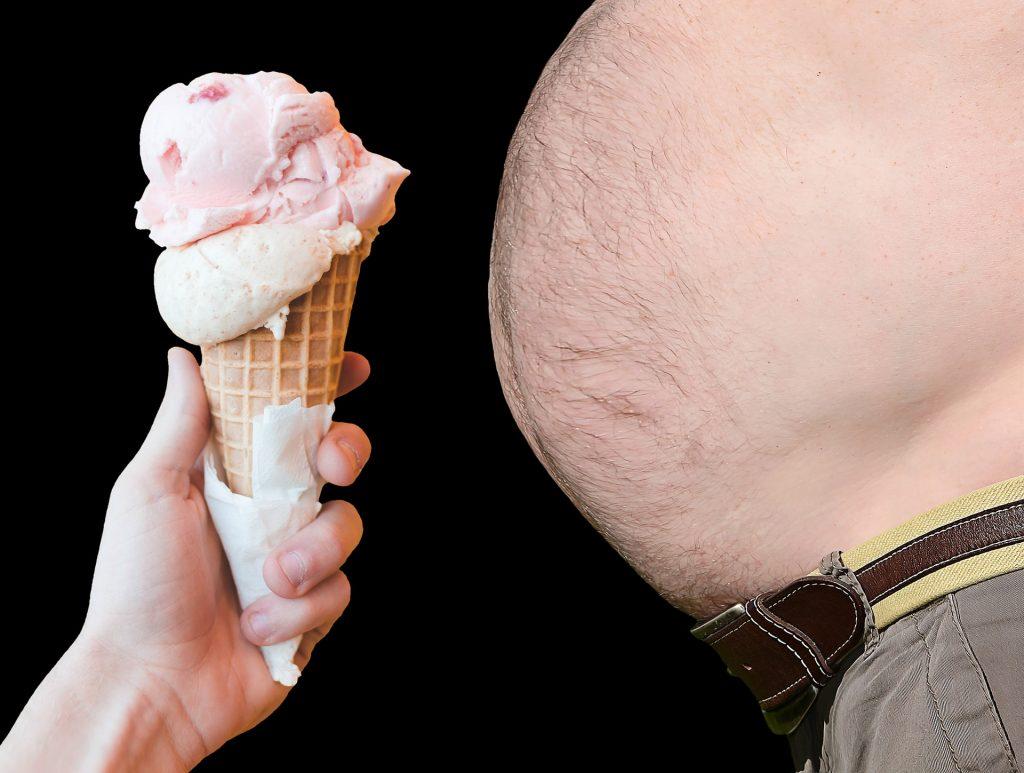 visceral fat in abdomen
