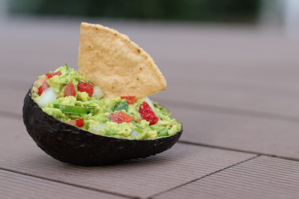 Guacamole-stuffed-avocado