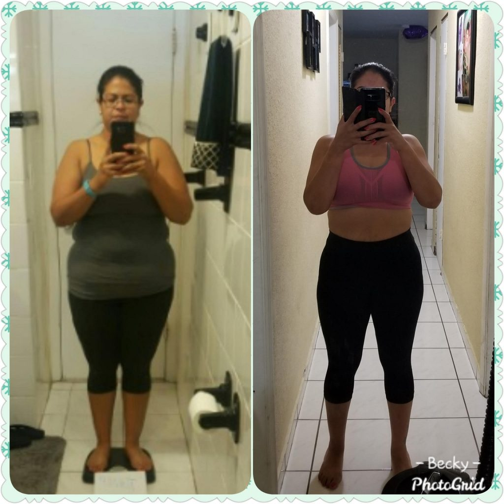 41 pounds lost with 131 method