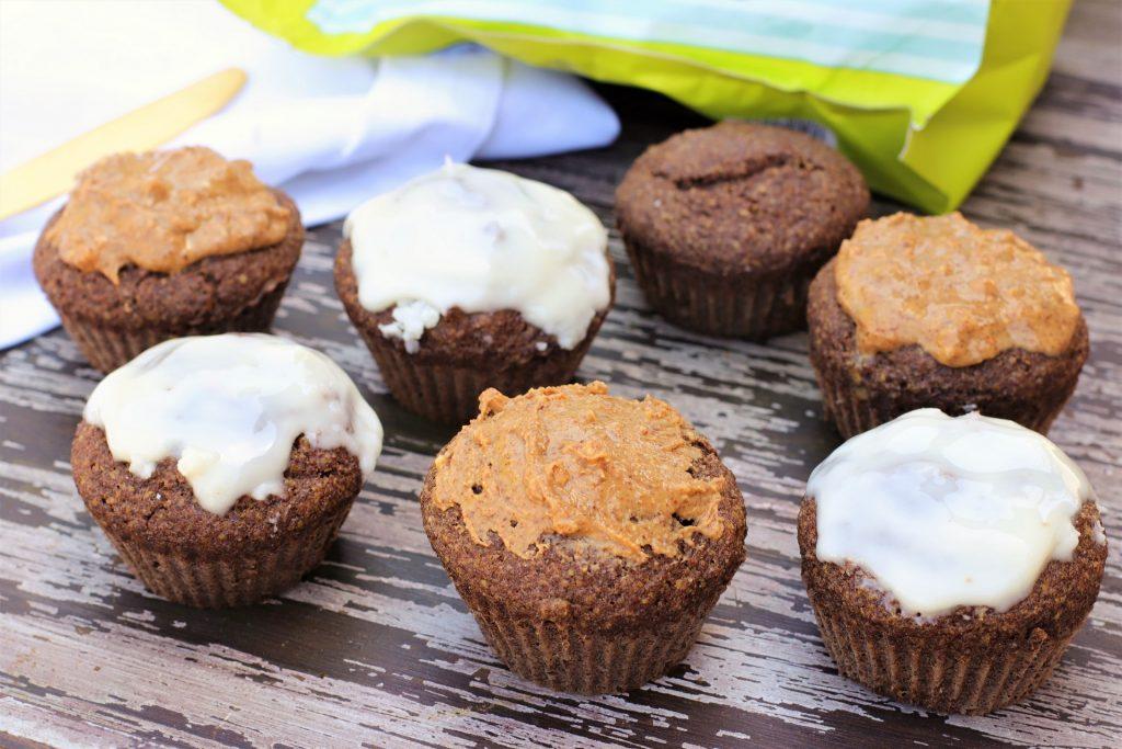 flax cinnamon muffins